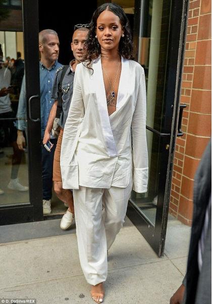 Rihanna EDUN Fashion, NYFW 2014