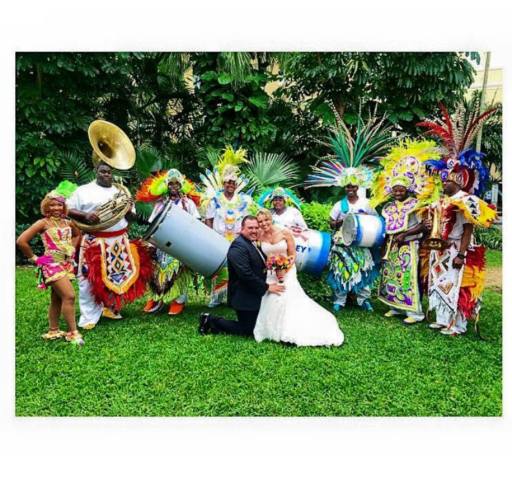 Junkanoo Wedding - Bahamas