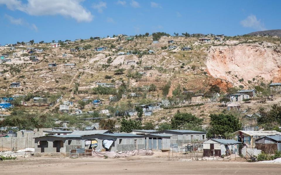 Canaan, Haiti. Photo by: Benedict Moran for Al Jazeera America.
