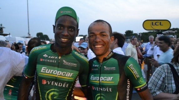 Kevin Réza (pictured left) and Yohann Gène (right).