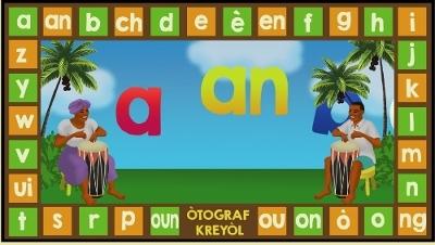 Kreyòl Alphabet DVD