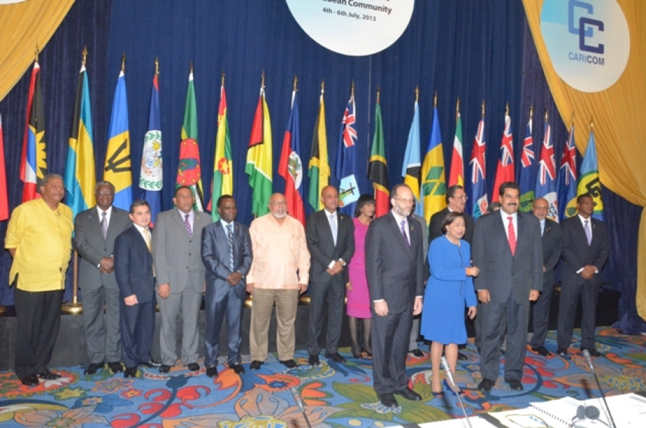 34th Regular meeting of CARICOM Heads of Government. Photo Credit: Sandra Prince/OP.