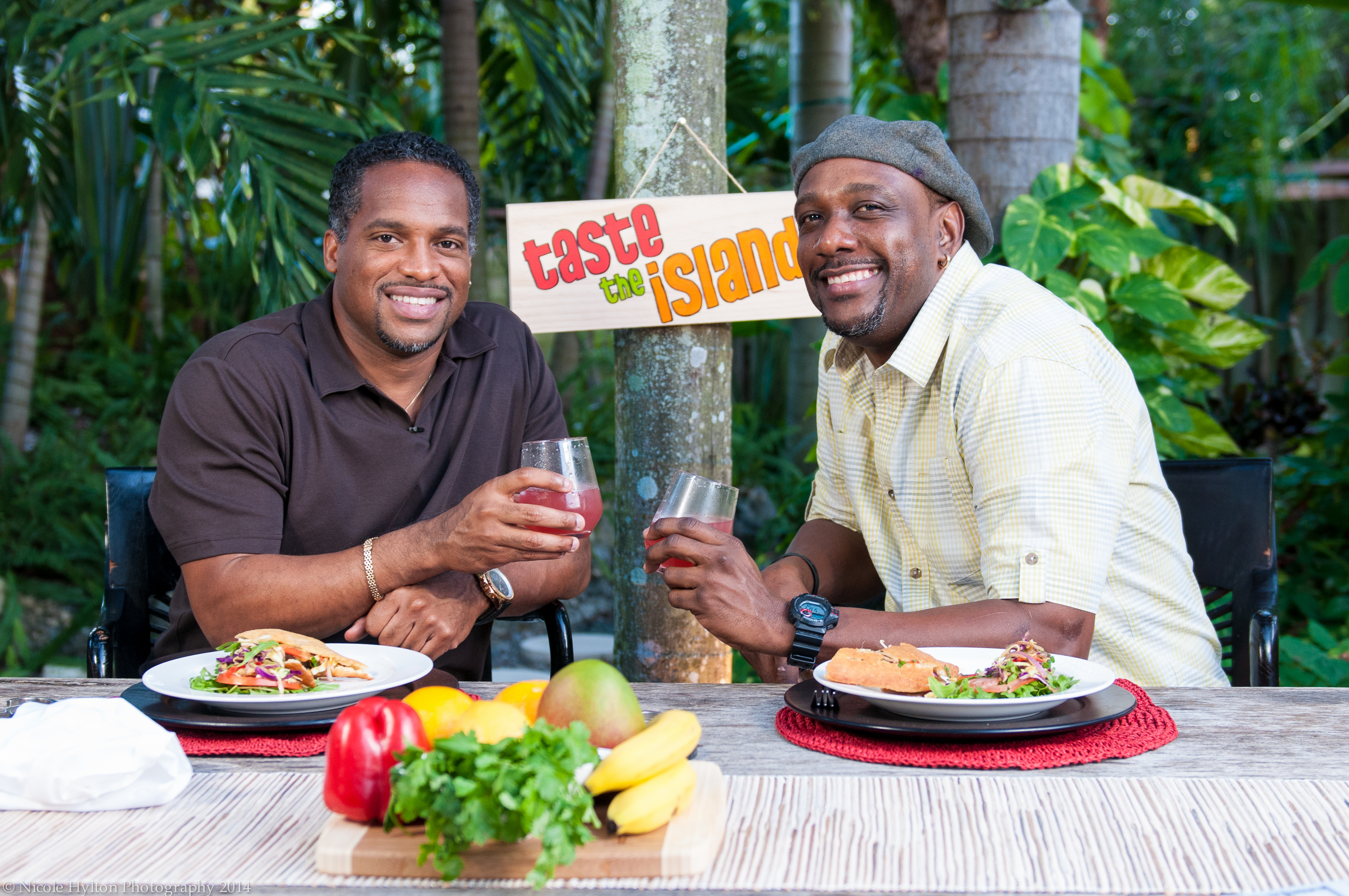 Ato Boldon on Taste the Islands with Chef Irie.