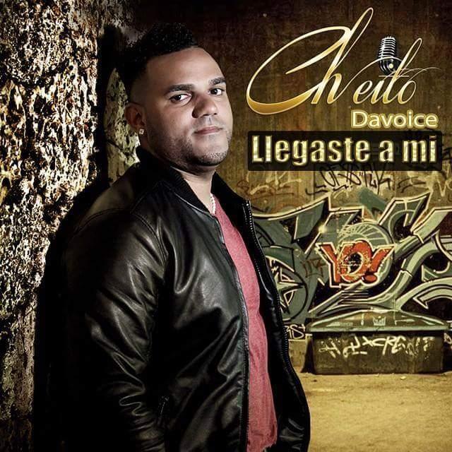 Cheito Davoice - Lleguste A Mi Album Cover.