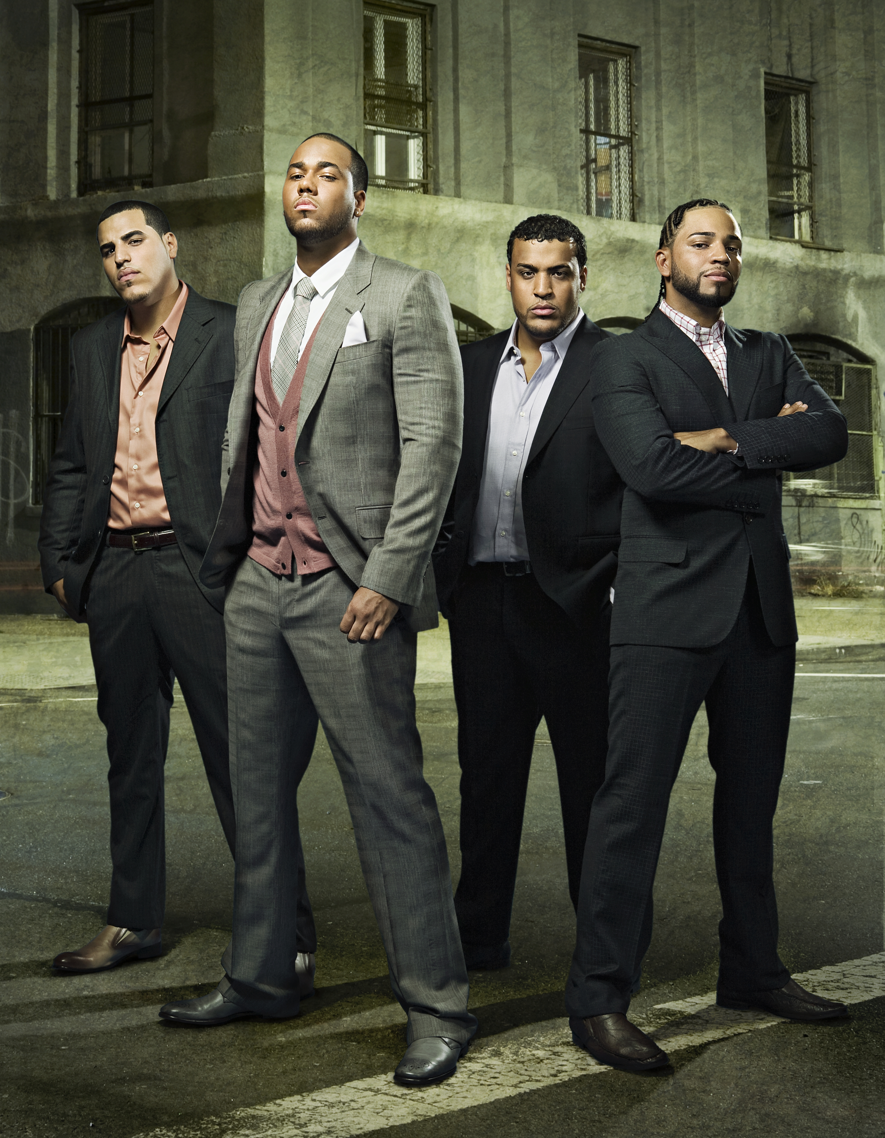 Famous New York-based, Dominican boy band, Aventura.